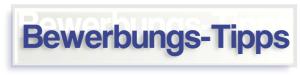 Bewerbungs-Tipps - Jobcoaching München