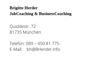 Brigitte Herder - Impressum